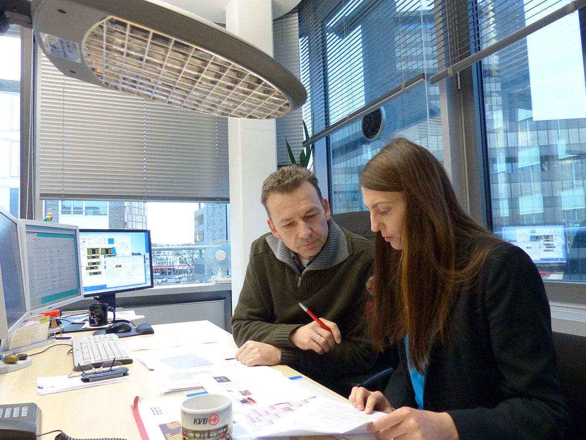 Kaffee mit Herbert aus der Abteilung Prozess- und Kommunikationstechnik