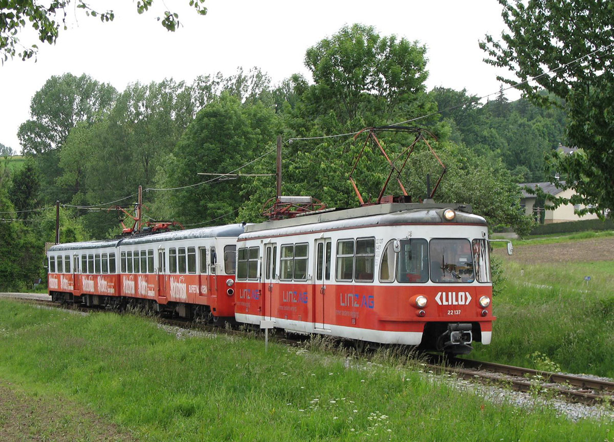 Bis 2000 waren die Kölner Züge auf der Linzer Lokalbahn in Einsatz. (Foto: Linzer Lokalbahn)