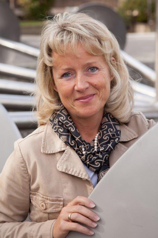 Manuela Georgi leitet die Ausbildung in den kaufmännischen Berufen.
