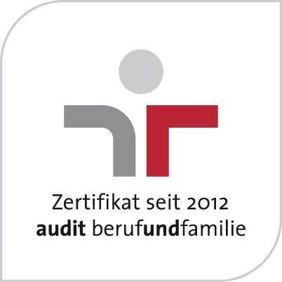 Die KVB ist seit 2012 zertifiziert durch das Audit Beruf und Familie.