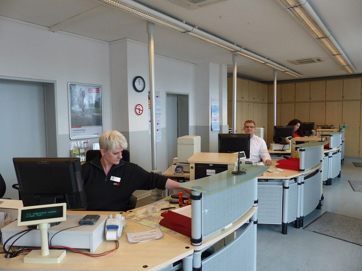 Das Ehrenfelder Kundenberater-Team.