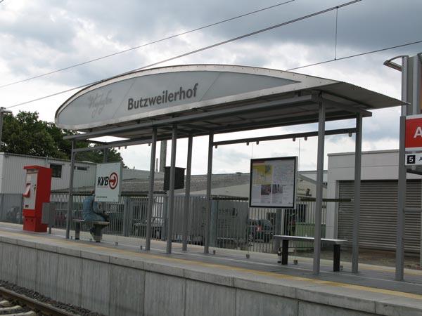 Haltestelle Alter Flughafen Butzweilerhof