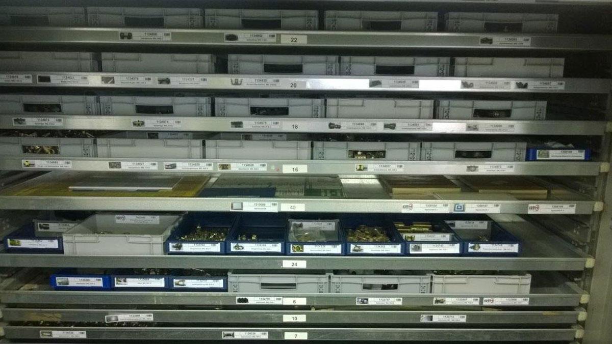 Bestimmte Materialien müssen für einen reibungslosen Betriebsablauf immer ausreichend vorhanden sein.