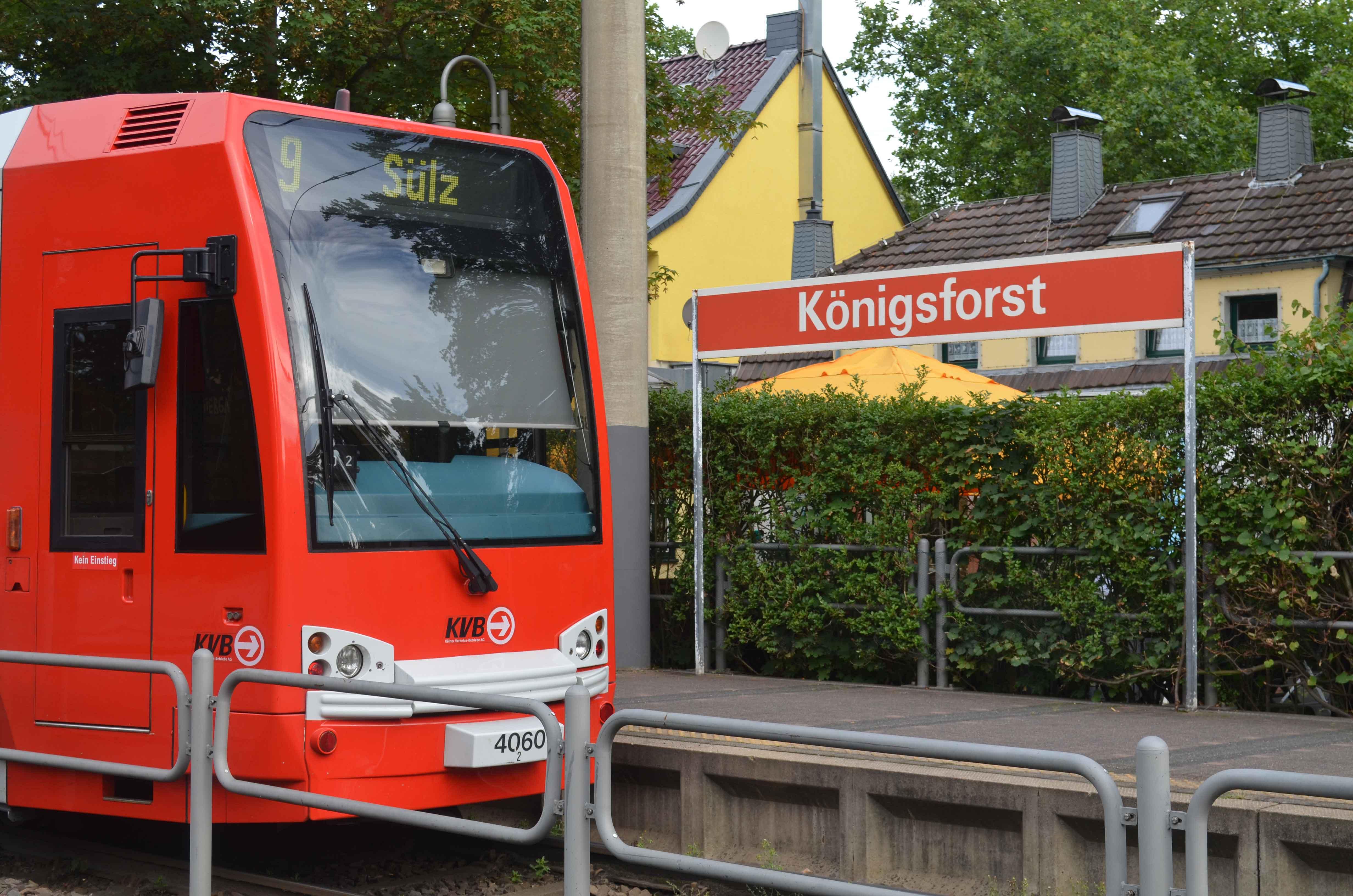 Die Linie 9 verbindet die Naherholungsgebiete in Sülz und Königsforst