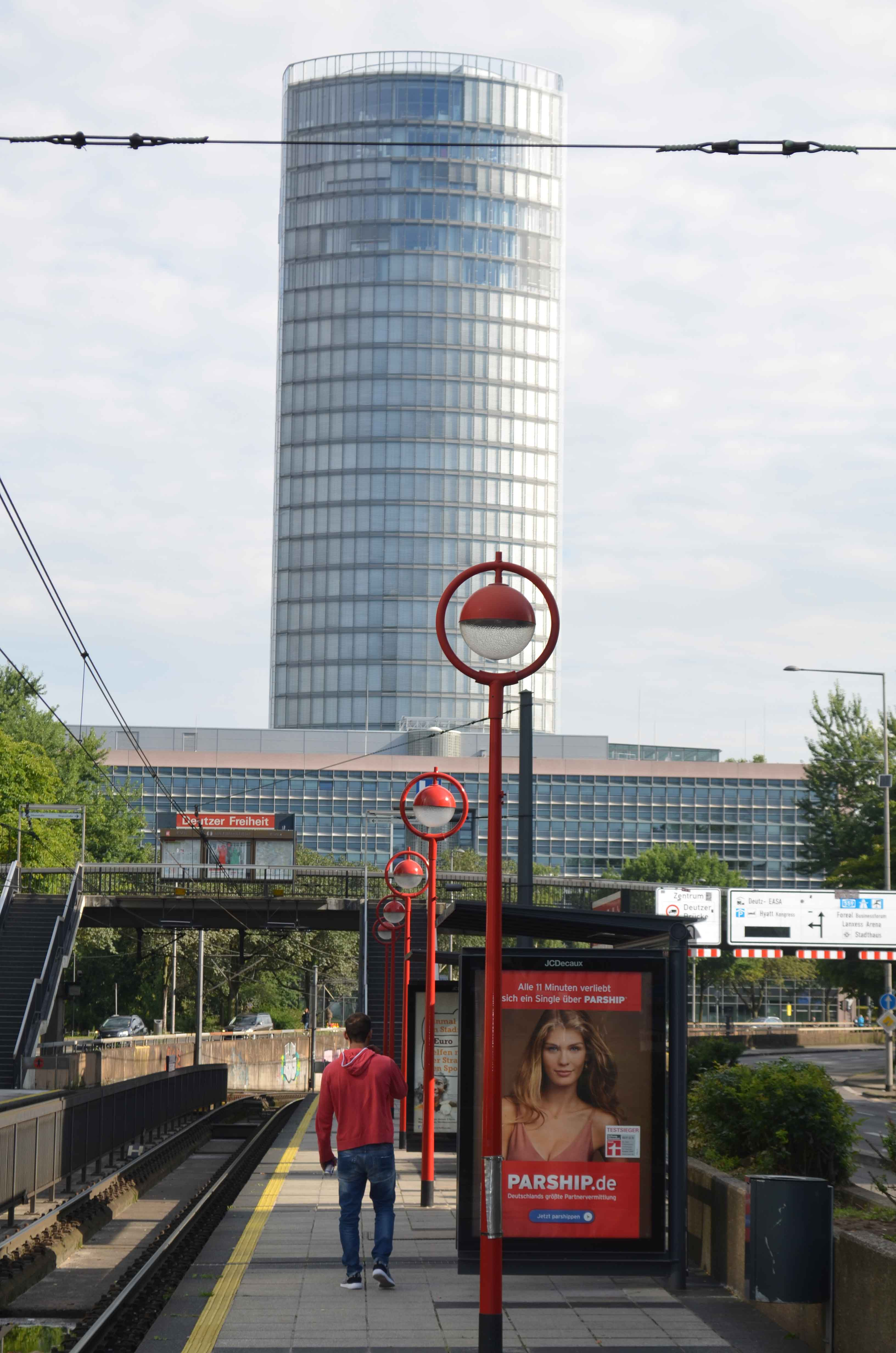 Der LVR-Turm in Deutz