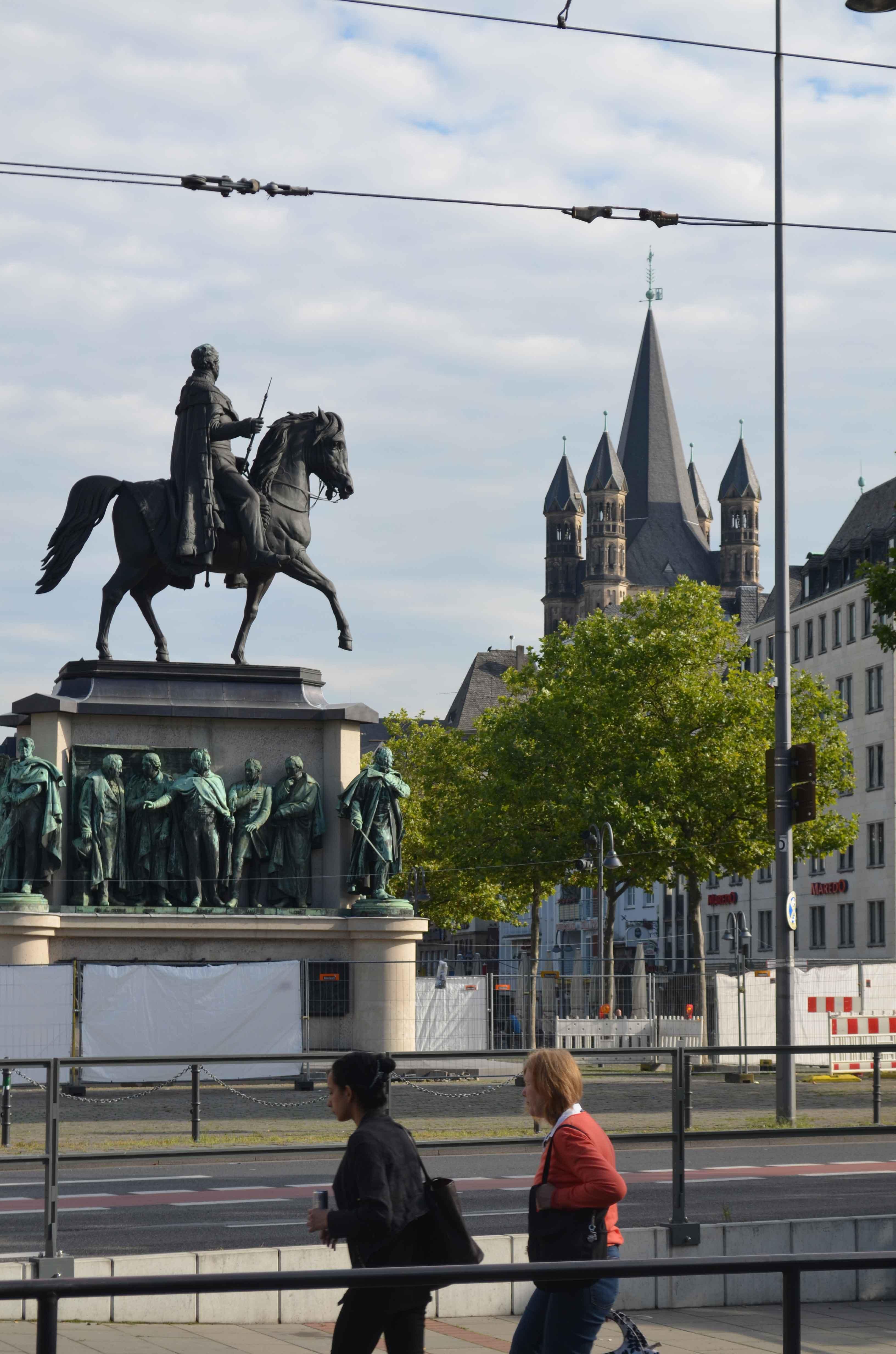 Hoch zu Ross: Preußenkönig Friedrich Wilhelm III.