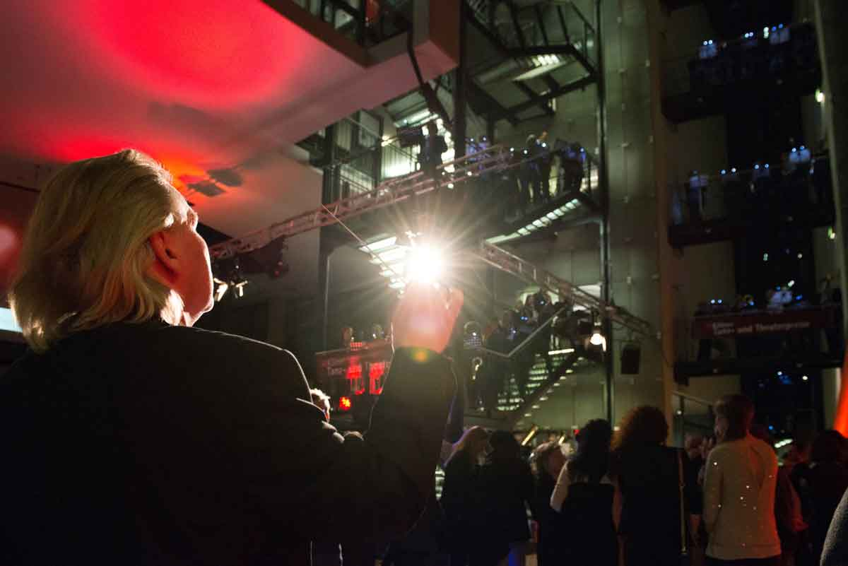 Das KVB-Orchester unter der Leitung von Patrick Dreier bei der Verleihung des Kölner Tanz- und Theaterpreises 2013.