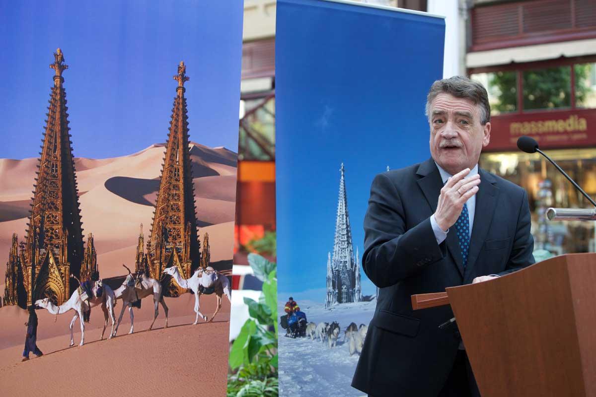 Michael Groschek, Verkehrsminister NRW während seiner Rede.
