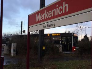 In Merkenich endet die Linie 12 - für immer?