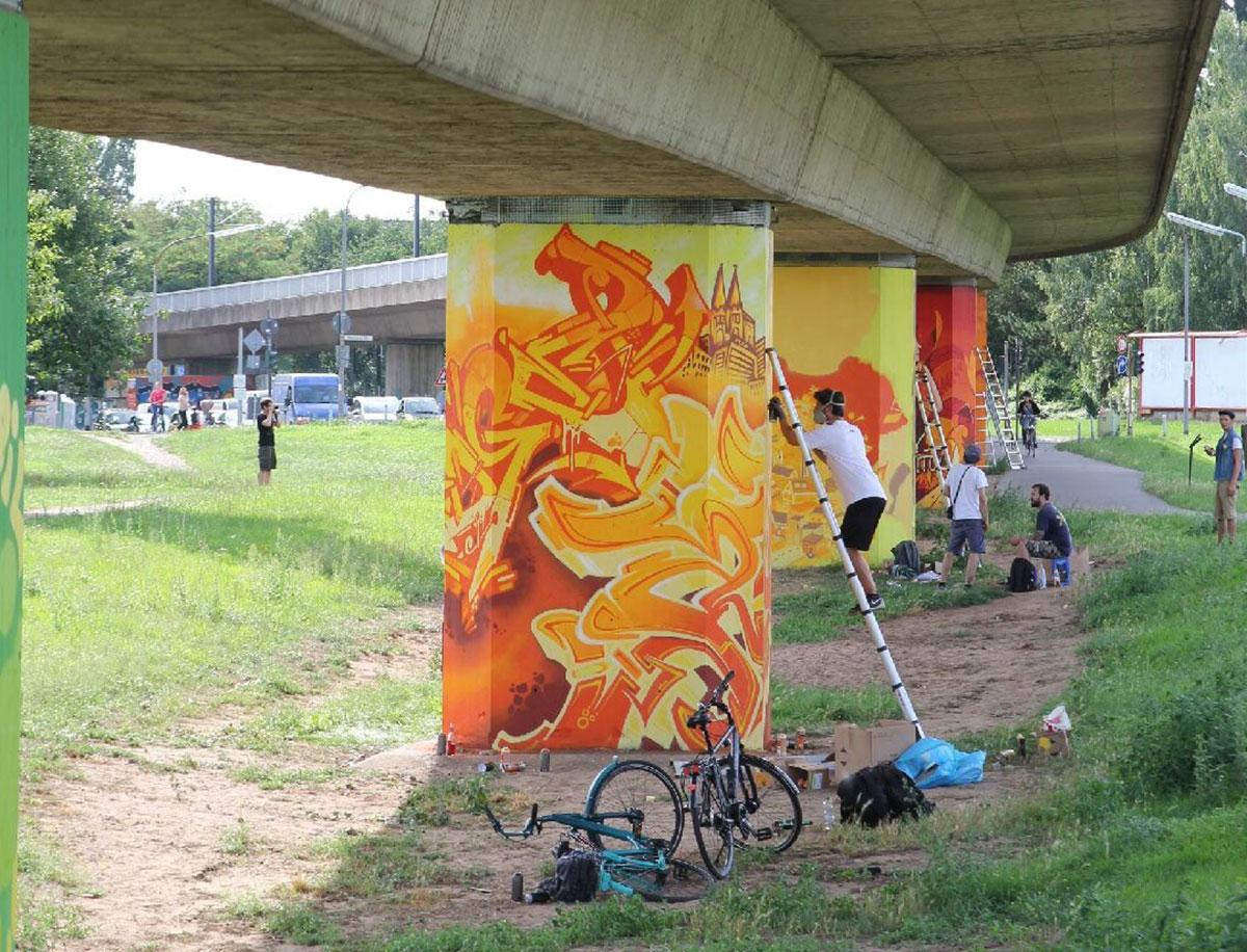 Graffiti-Kunst…