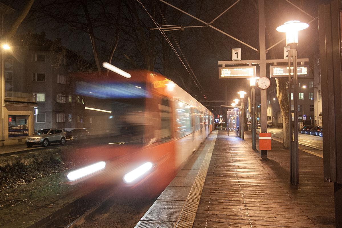 Nachtverkehr auf der Linie 13? Gute Anschlüsse wären unmöglich.