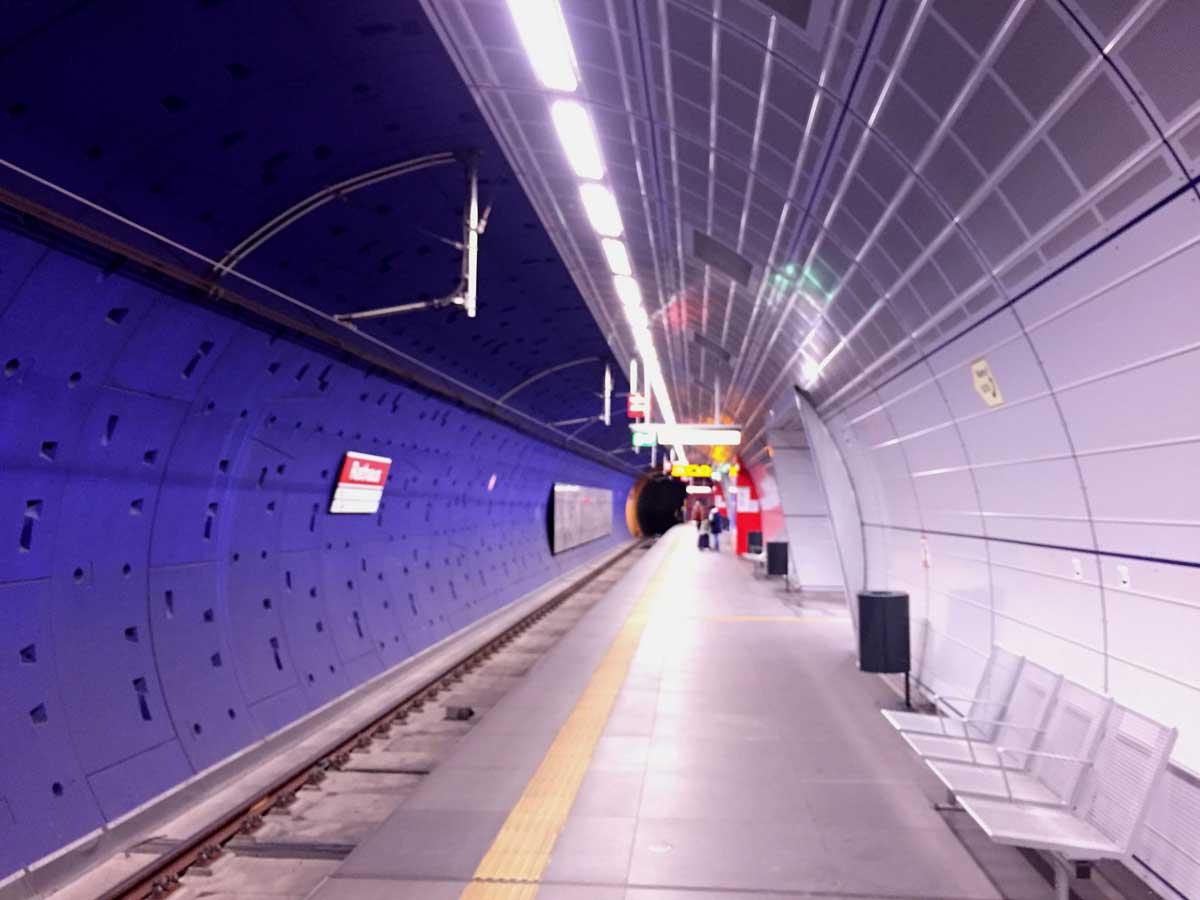 Bereits jetzt nutzen die Stadtbahnen der Linie 5 einen ersten Abschnitt der Nord-Süd Stadtbahn und erreichen das Rathaus und den Heumarkt.