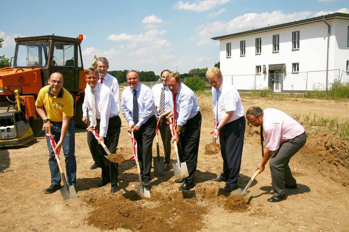 Mit dem Spatenstich in 2010 wurde ein neuer Weg in der ÖPNV-Entwicklung konkret.