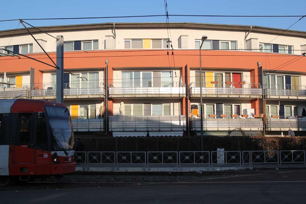 Für die Qualität eines Wohngebietes ist eine gute ÖPNV-Anbindung von großem Wert.