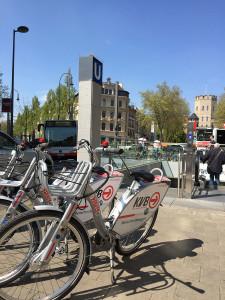 KVB-Rad, Fahrrad, Chlodwigplatz