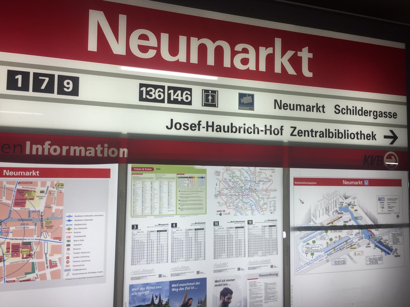 Verkehrsknoten Neumarkt
