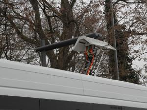 Pantograph, Ladegerät für Elektrobusse