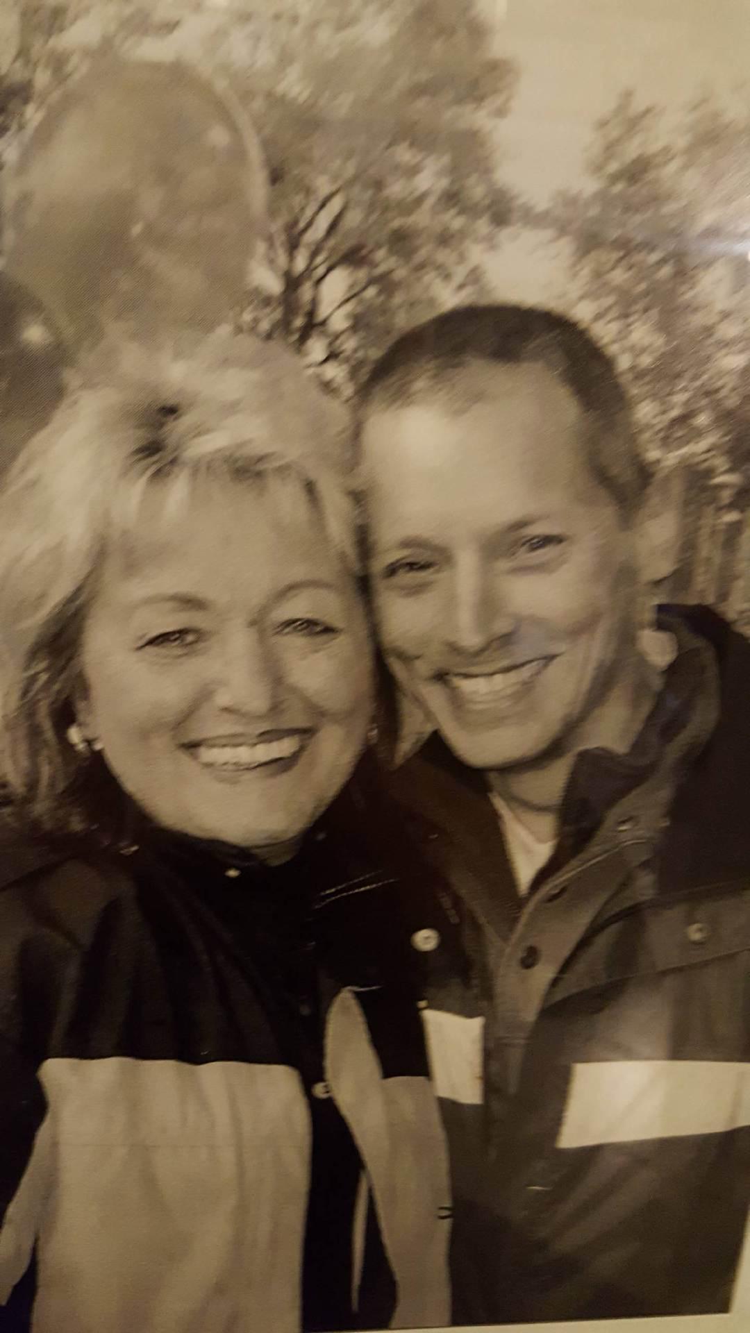 Gaby und Ewald kurz nach ihrem Kennenlernen 2005