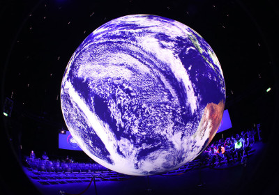 Weltkugel Umweltschutz