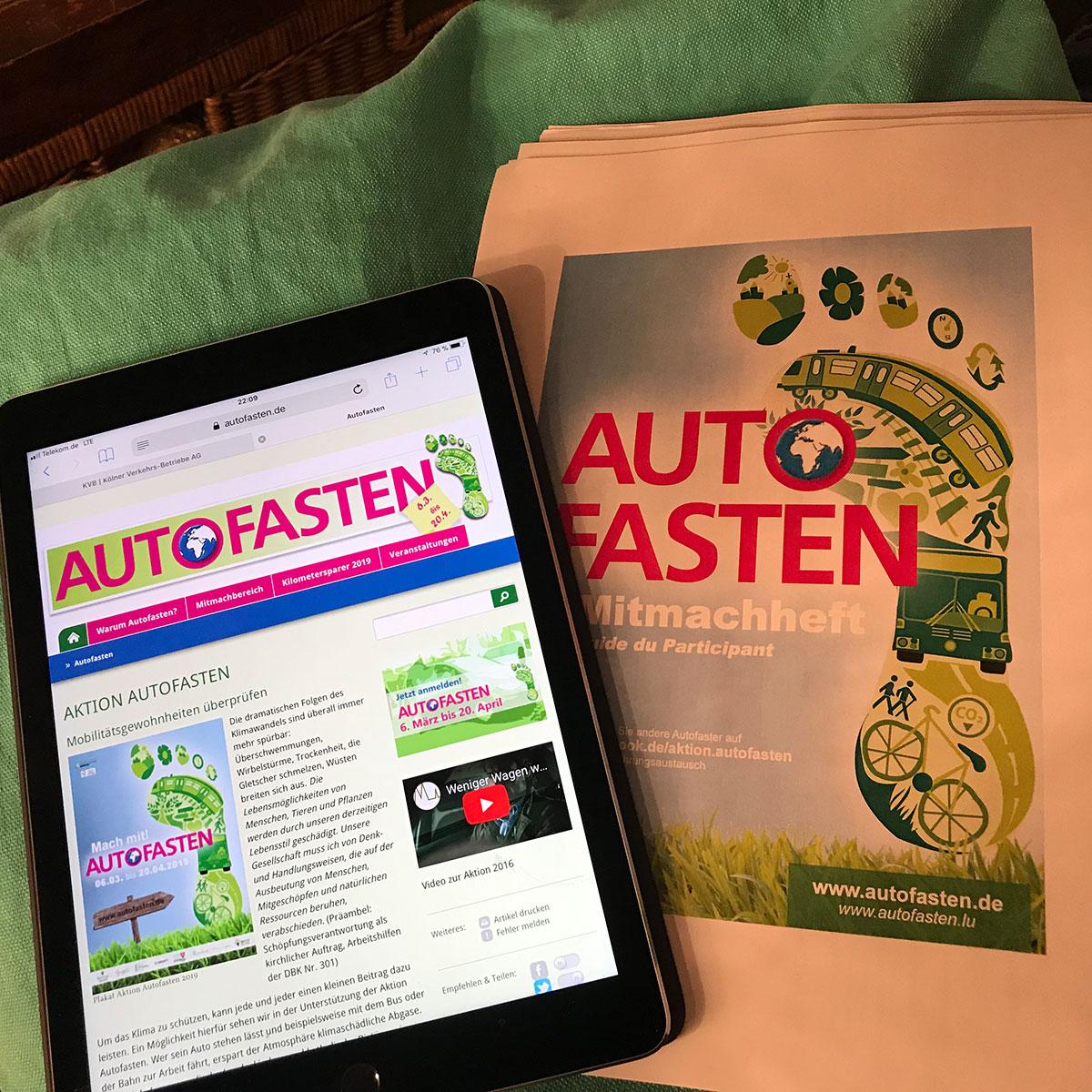 Informationen zum Autofasten