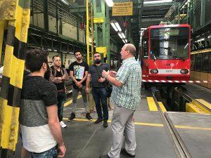 Hauptwerkstatt Köln Weiden-Pesch mit Besuchern