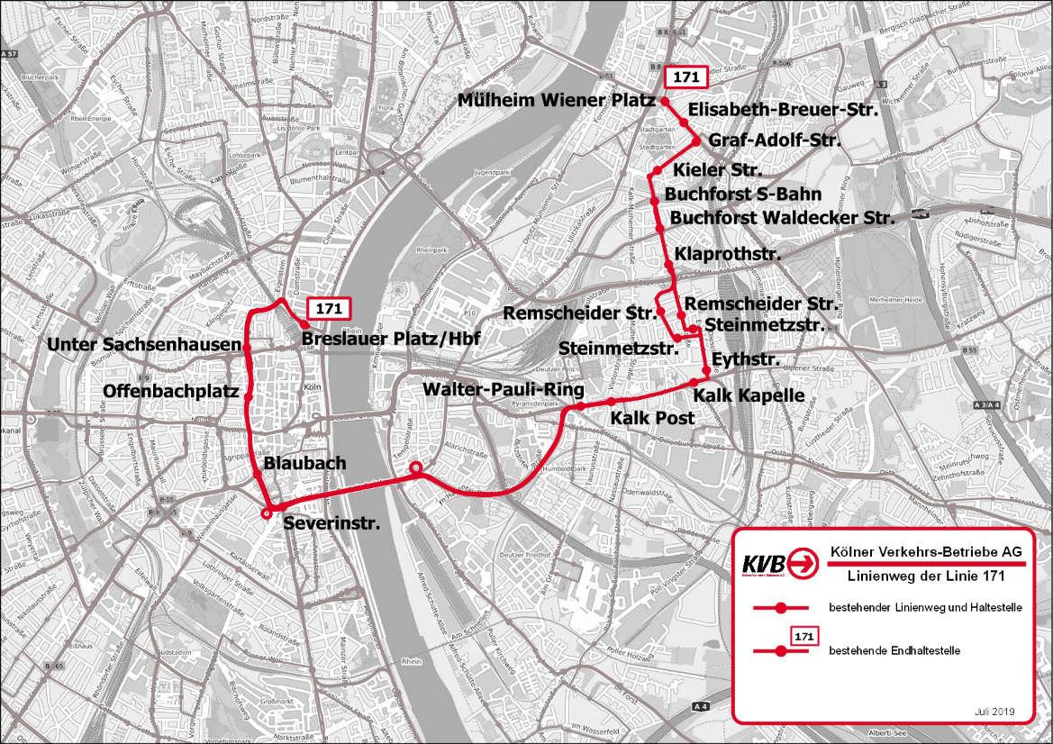 Kvb Fahrplan Linie 13
