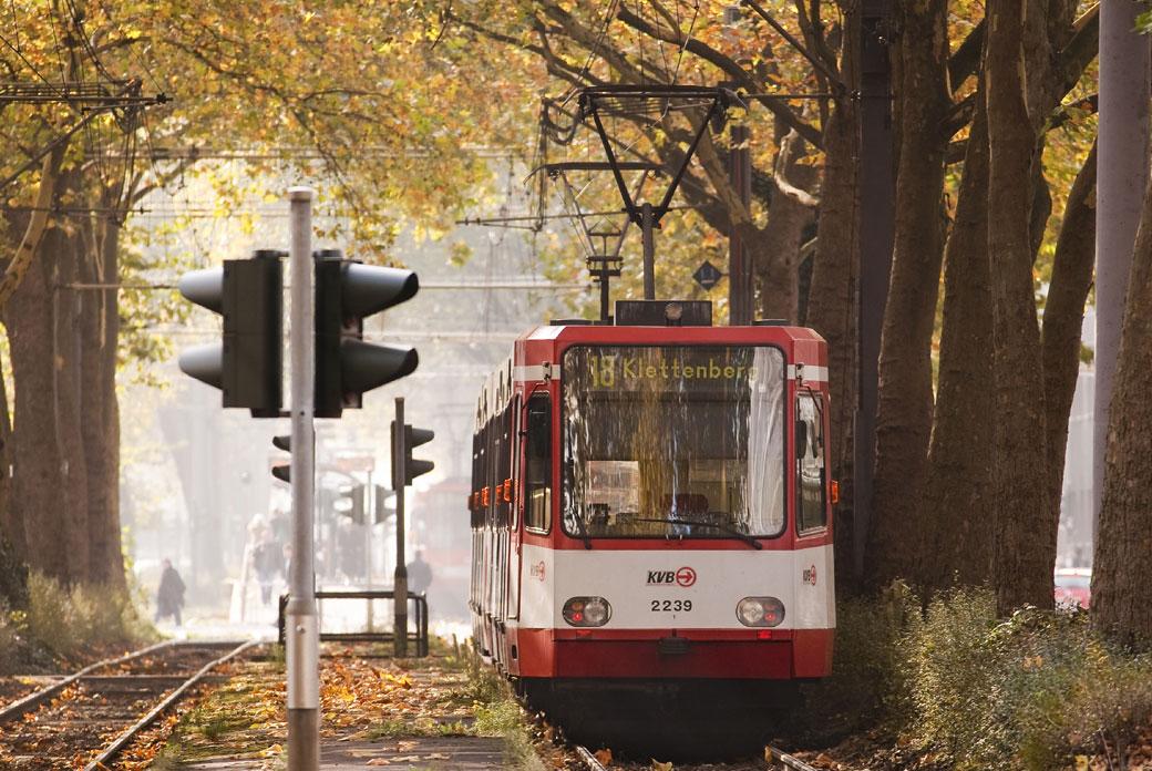 Haltestellen Linie 1 Köln