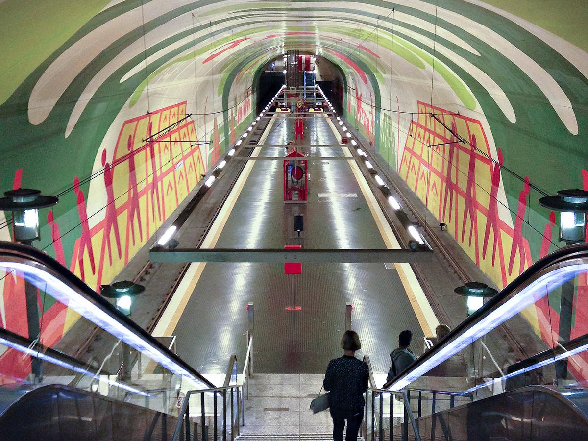 U-Bahn-Haltestelle Leyendecker Str.